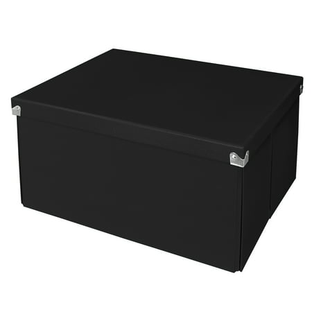 Pop N Store Decorative Collapsible Storage Box With Lid