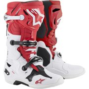 Alpinestars Tech 10 Boots Red/White/Black (Red, 8)