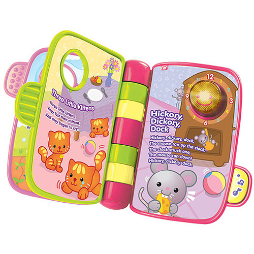 VTech Storytime Rhymes Book, Pink by VTech