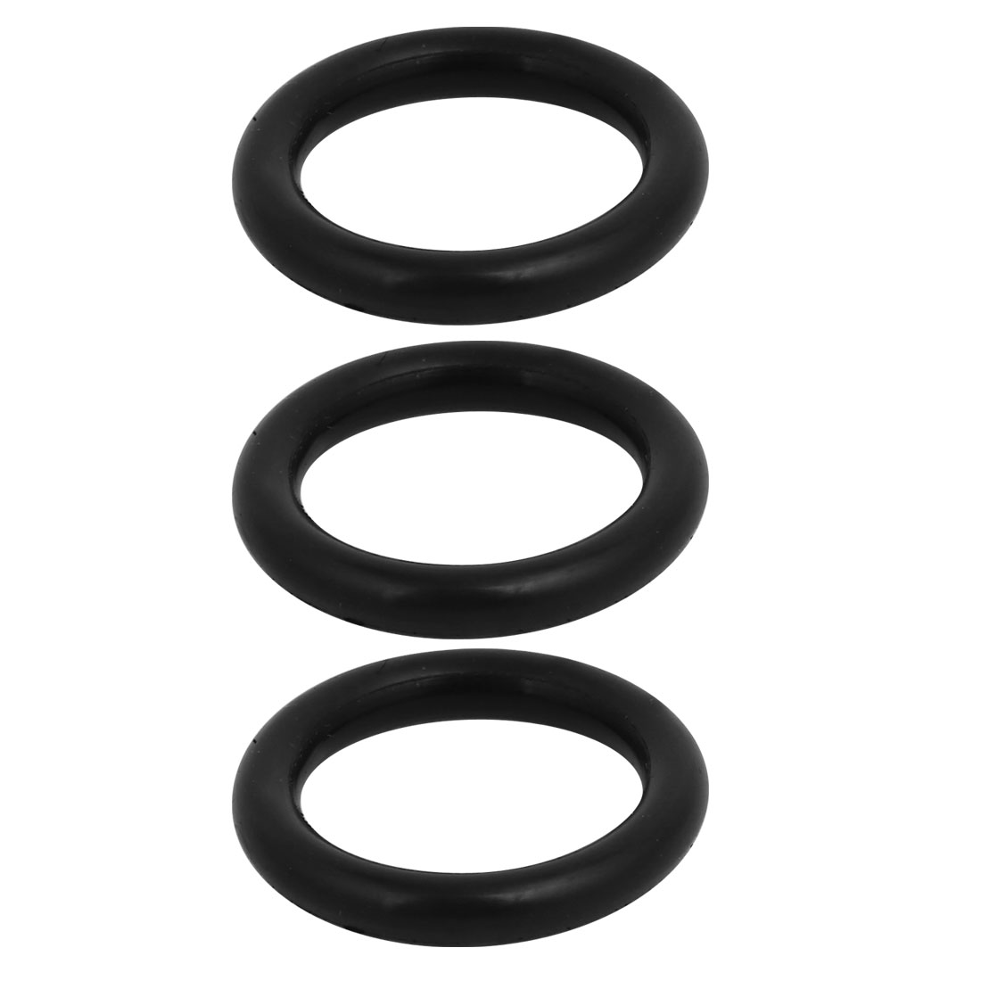 22mm Diameter Rubber O-Ring Replacement Part Black 3pcs for Electric Power Tools - image 2 of 2