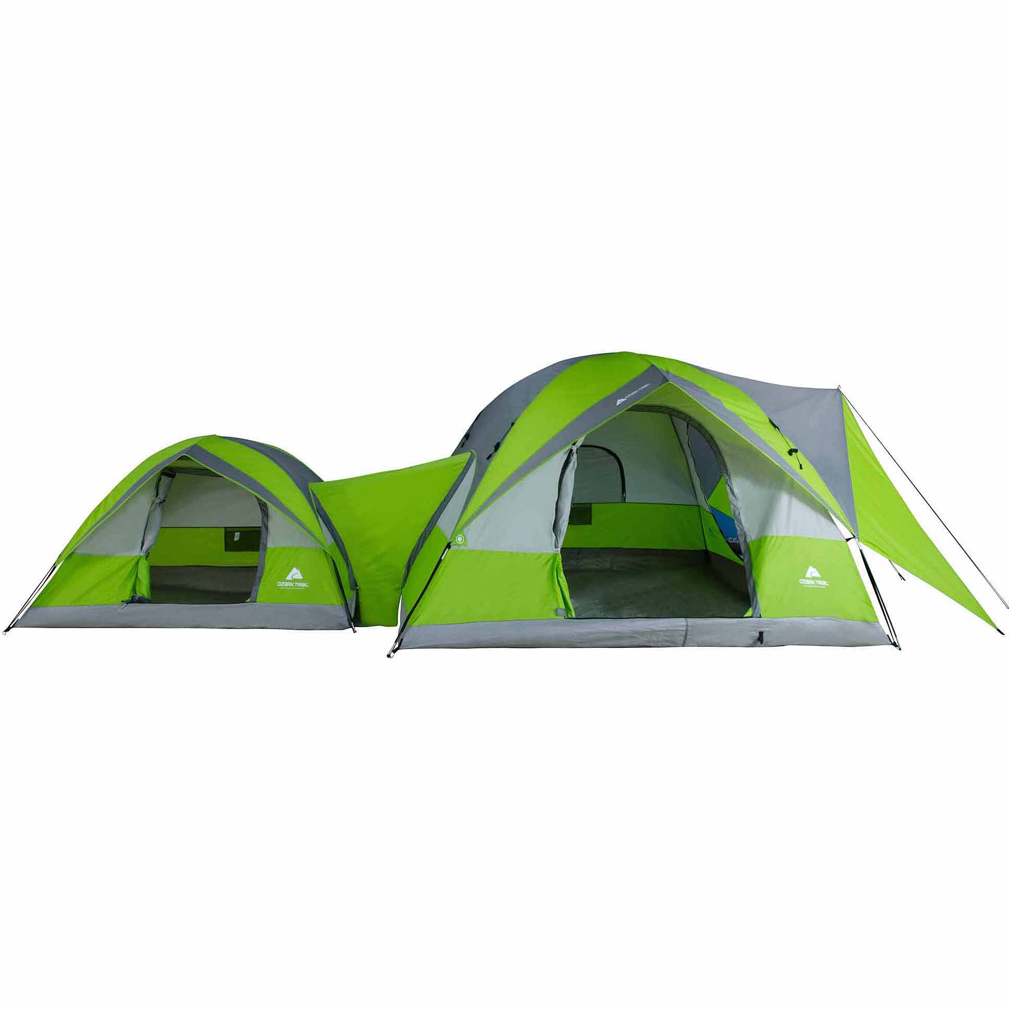 sc 1 st  Walmart & Ozark Trail 2-Dome Connection Camping Tent for 8 People - Walmart.com