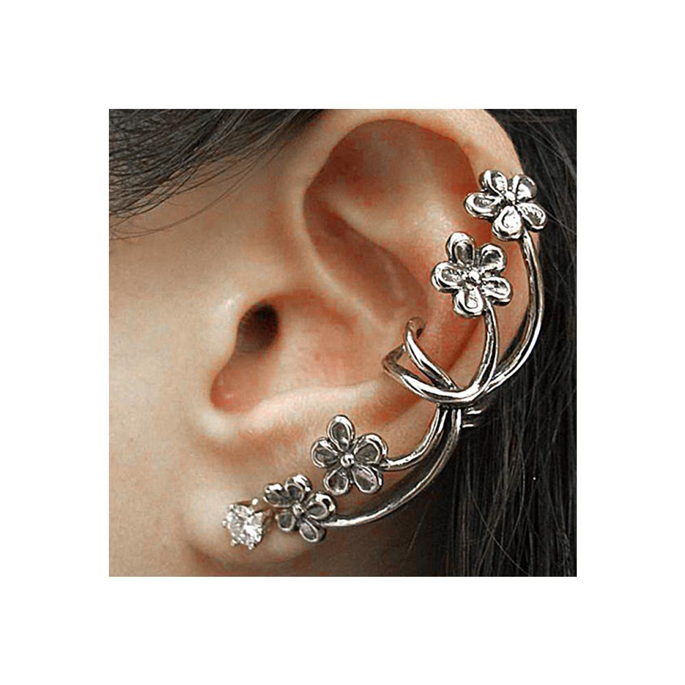 gold retro cuff silver women itm clip gifts set earring earrings ear lady stud boho wrap