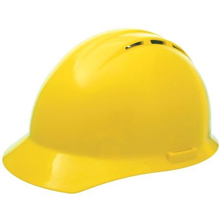 Americana Vent Mega Ratchet Cap Style Hard Hat, Yellow