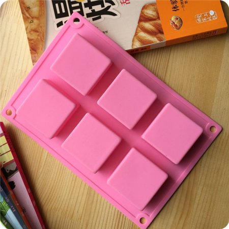 Ice Bakeware (Soap Rectangular Brick Cake Mold/Ice Cube/Ice Lattice/Silicone Ice Tray/Ice-Making Bakeware Tools)