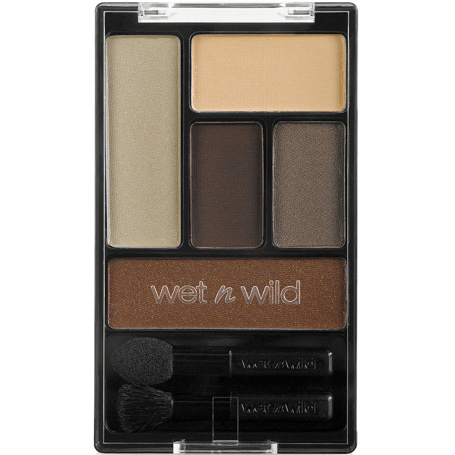 Wet N Wild Color Icon Eyeshadow Palette, 395A The Naked Truth, 0.21 oz
