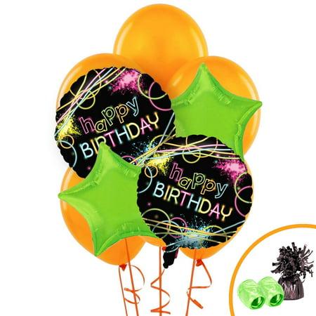 Glowsticks In Balloons (Glow Birthday Balloon Kit)