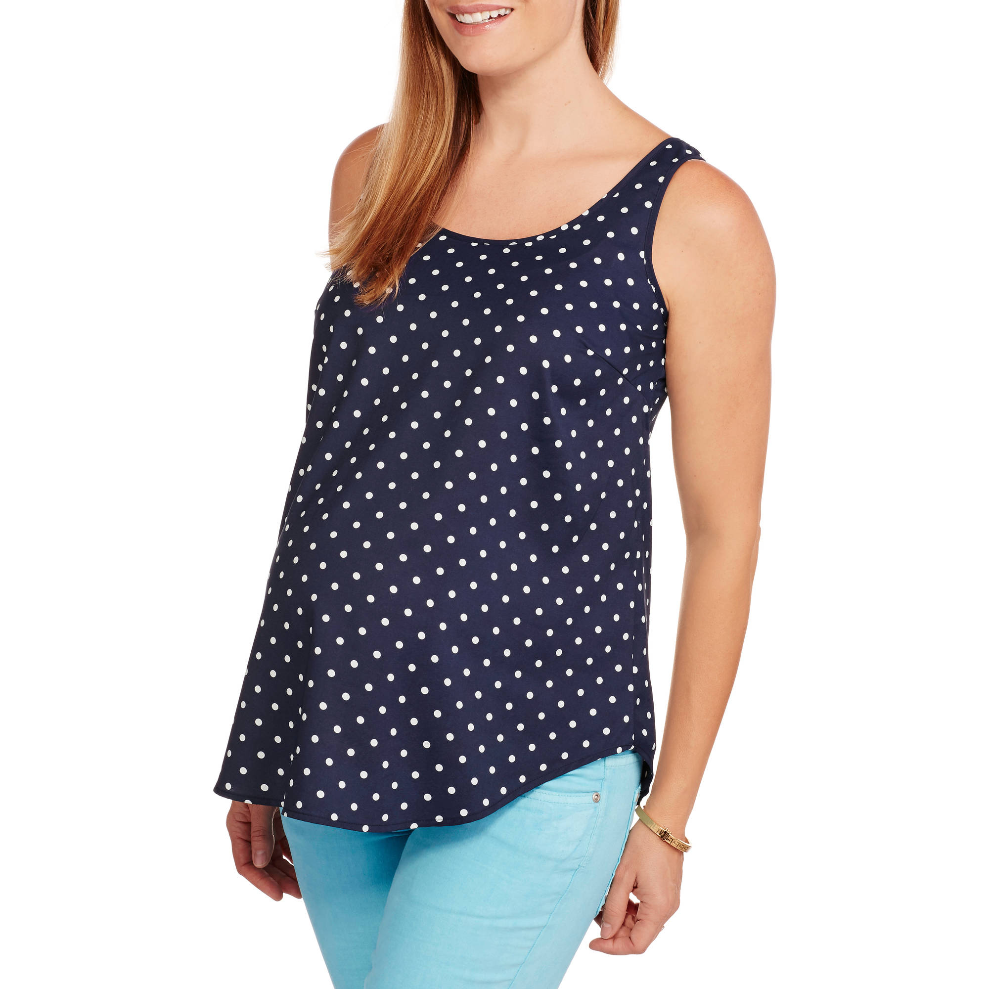 Faded Glory Maternity Woven Tank
