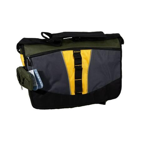 Endura Messenger Bag for Laptops, Phone & More, 18 x 14