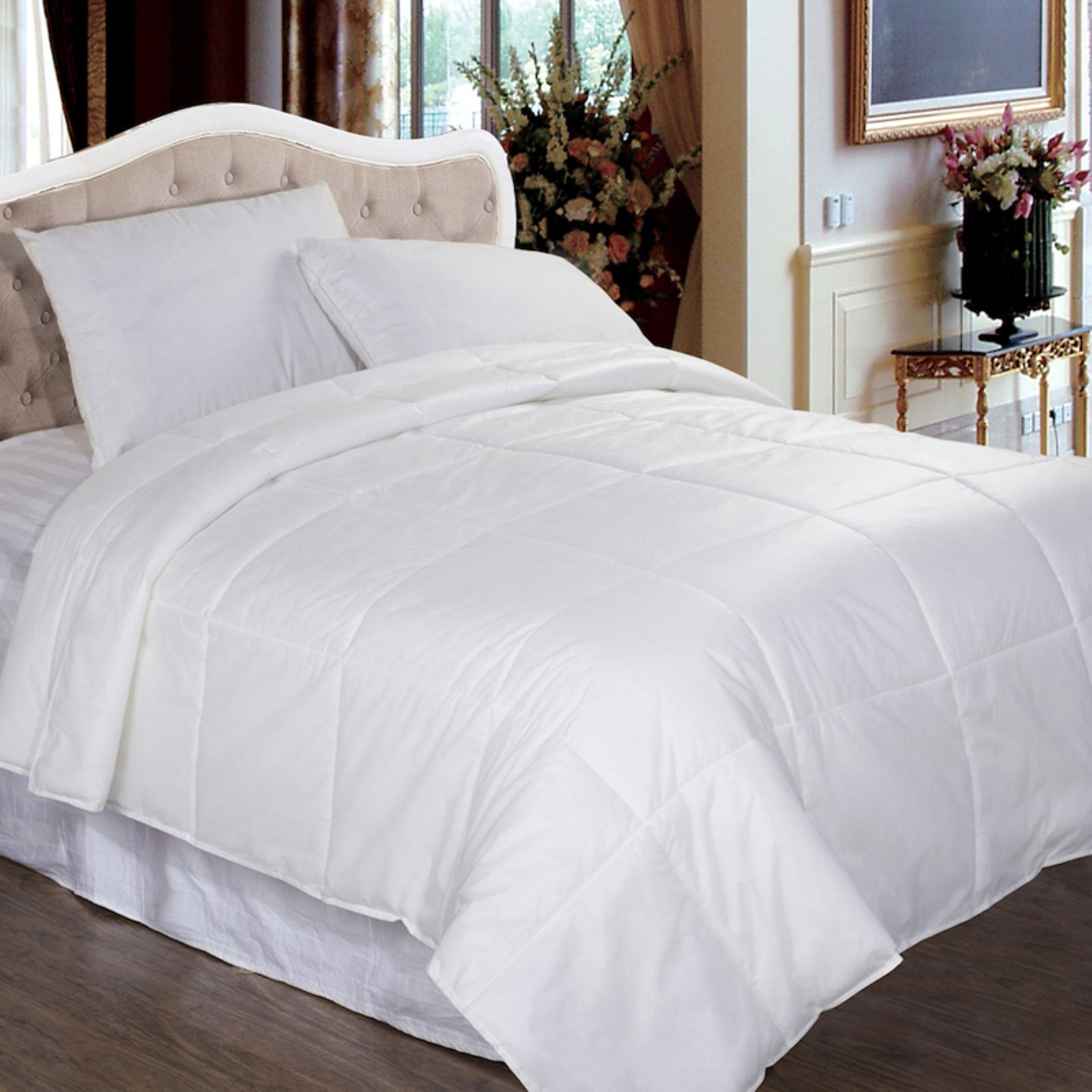 Permafresh Bed Bug and Dust Mite Control Water-Resistant Down Alternative Polypropylene Comforter