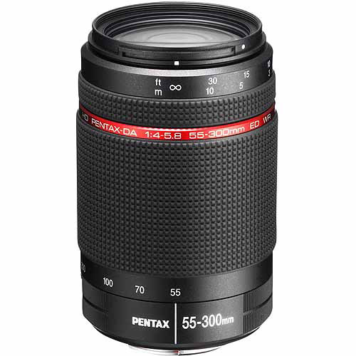 Pentax 55-300mm F4-5.8 ED WR HD Pentax-DA Lens 22270