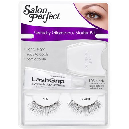 Salon perfect perfectly glamorous eyelashes starter kit for Hair salon perfect first essential