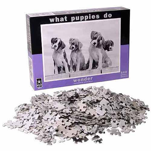 What Puppies Do - Wonder Jigsaw Puzzle: