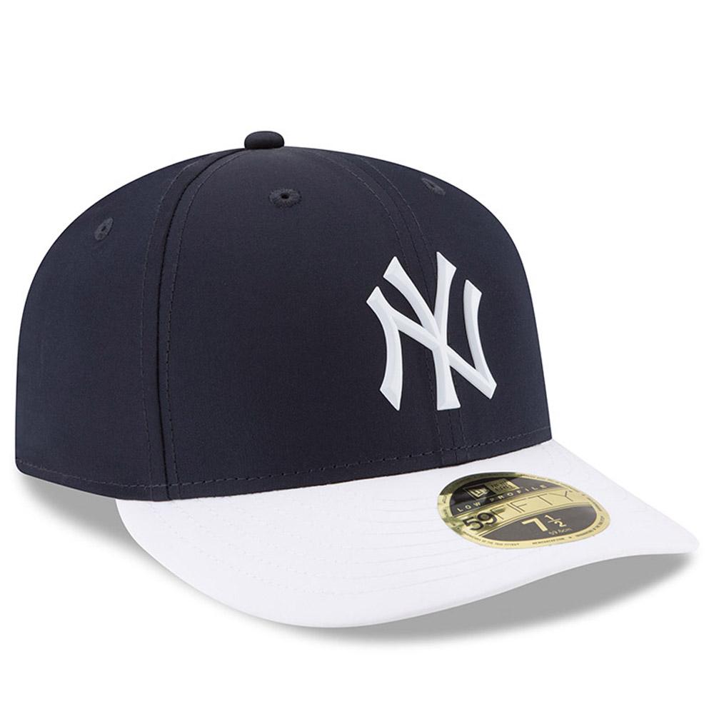 61c46b39b6cc4 New York Yankees New Era 2018 On-Field Prolight Batting Practice Low  Profile 59FIFTY Fitted Hat - Navy White - Walmart.com