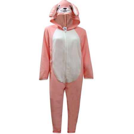 Adorable Pink Bunny Hooded Onesie Pajama](Next Womens Onesie)
