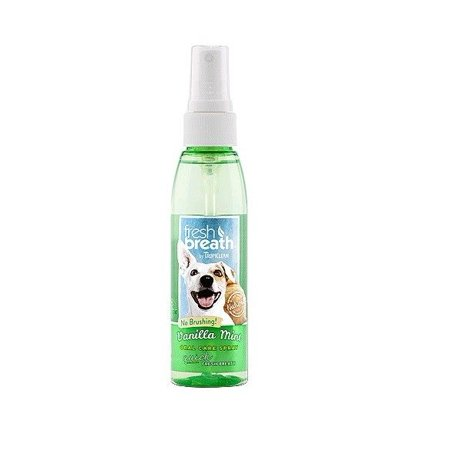 Fresh Breath for Dogs 4 oz Dental Oral Care Spray Healthy Gums - Choose Scent (Vanilla