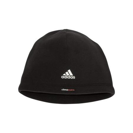 Adidas A645 Men's Climawarm Fleece Beanie -Black-One Size