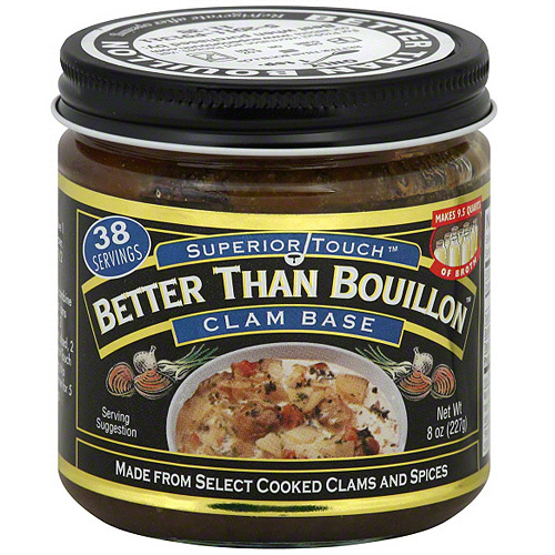 Superior Touch Better Than Bouillon Clam Base Bouillon, 8 oz (Pack of 6)