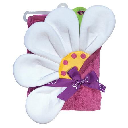 SOZO Flower Hooded Towel](Flower Hooded Towel)