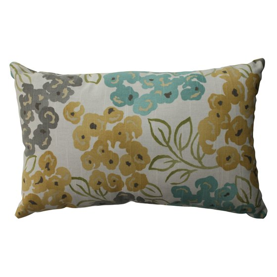 Pillow Perfect Luxury Floral Pool Throw Pillow - Walmart.com