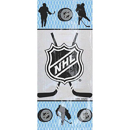 "Amscan Sports and Tailgating NHL Party NHL Large Party Bag Favours, Plastic, 11"" x 5"" x 3"" - image 1 of 1"