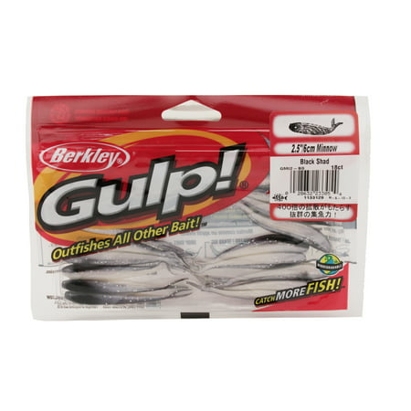 Berkley Gulp Minnow 2.5'' Minnow Emerald Shiner