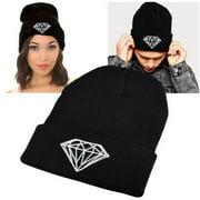 Zodaca Black Style 5 Unisex Knit Hip-hop Fashion Beanie Hats