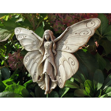 Carruth Studio Madame Butterfly Outdoor Wall Plaque
