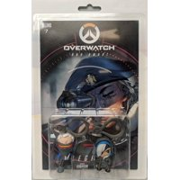 Overwatch Ana and Soldier 76 Comic Book and Backpack Hanger Two-Pack (Other)