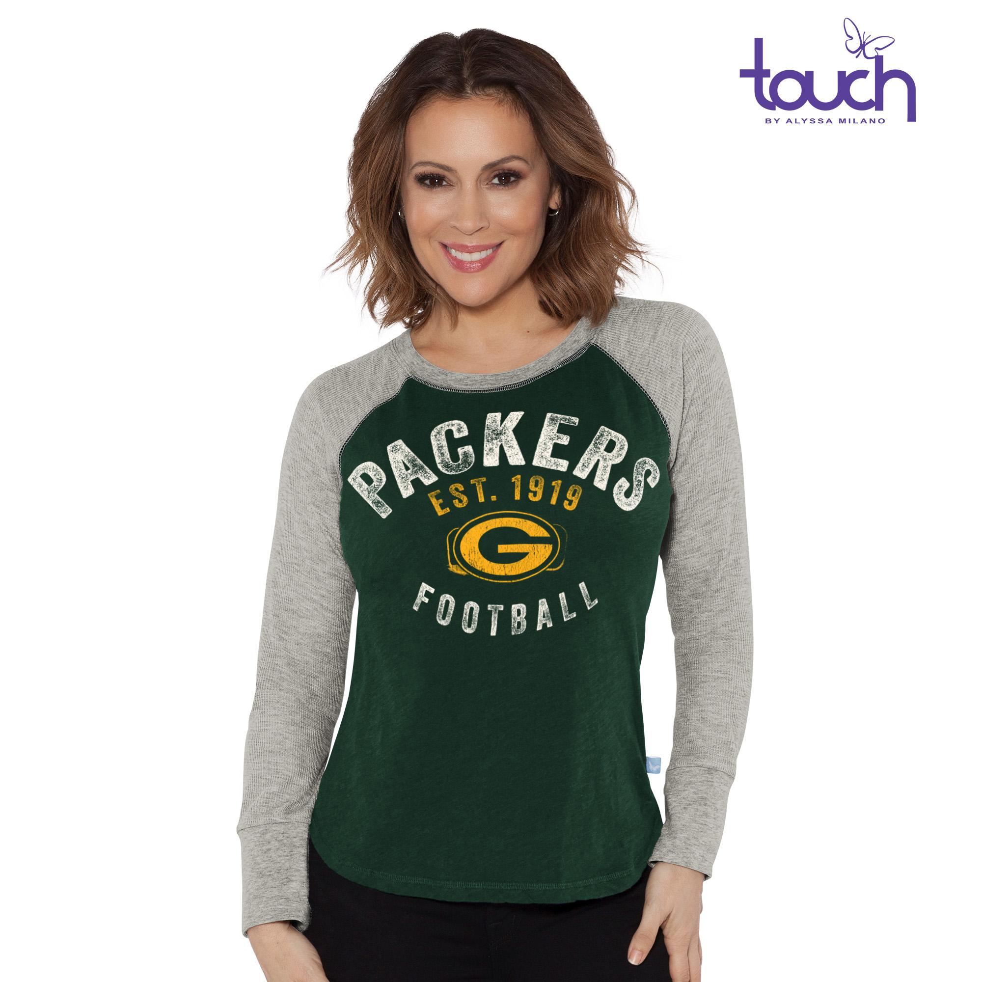 Green Bay Packers Lay-Up Long Sleeve Tee