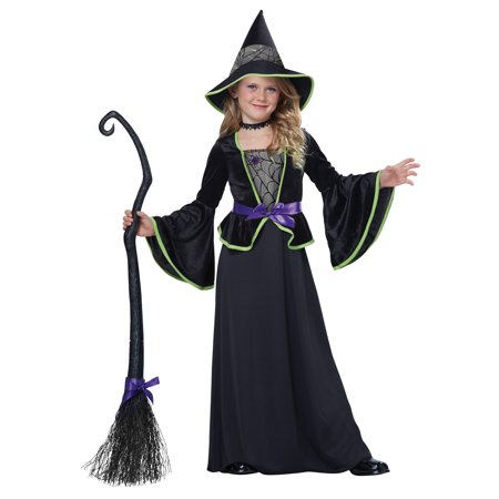 Classic Witch Fairytale Child Storybook Girls Halloween