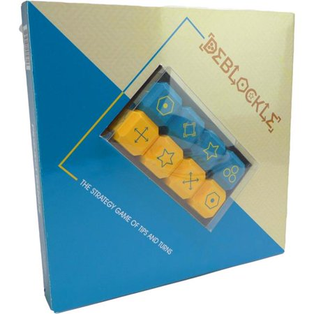Strategy Games Sg001 Deblockle Brain Teaser Puzzle44 Wood