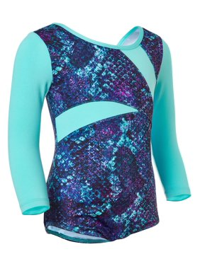 Future Star by Capezio 3/4 Sleeve Dance & Gymnastics Leotard with Back Strapping (Little Girls & Big Girls)