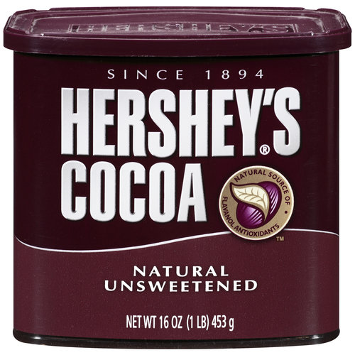 Hershey's Natural Unsweetened Cocoa, 16 oz