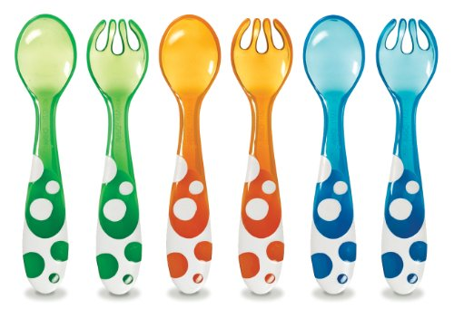 Munchkin 6 Piece Fork and Spoon Set by Munchkin