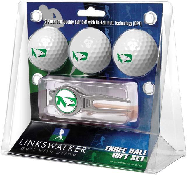 LinksWalker North Dakota 3 Ball Gift Pack With Kool Tool