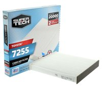 SuperTech Cabin Air Filter 7255, Replacement Air/Dust Filter for Toyota