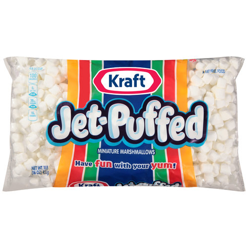 Kraft Jet-Puffed Miniature Marshmallows, 16 oz
