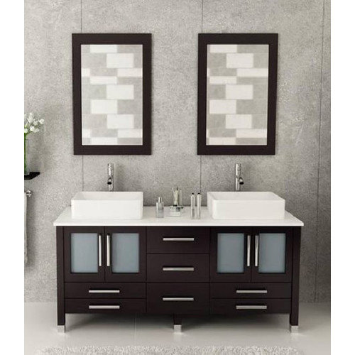 90 Inch Double Bathroom Vanity bathroom vanities - walmart