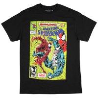 Marvel Mens The Amazing Spider-Man Venom Maximum Carnage Comic Book Cover T-Shirt