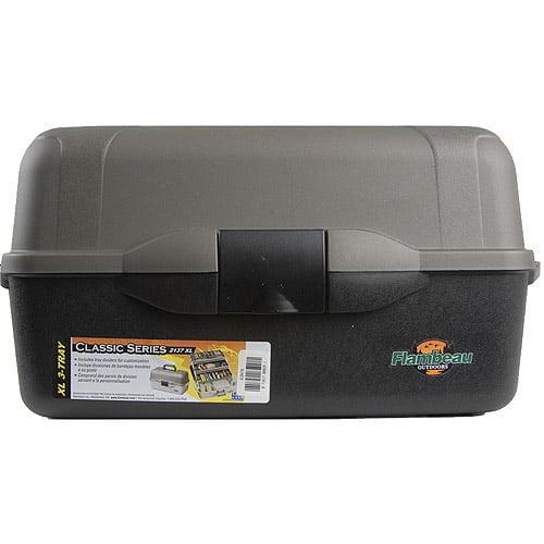 Flambeau XL 3-Tray Classic Tray Box