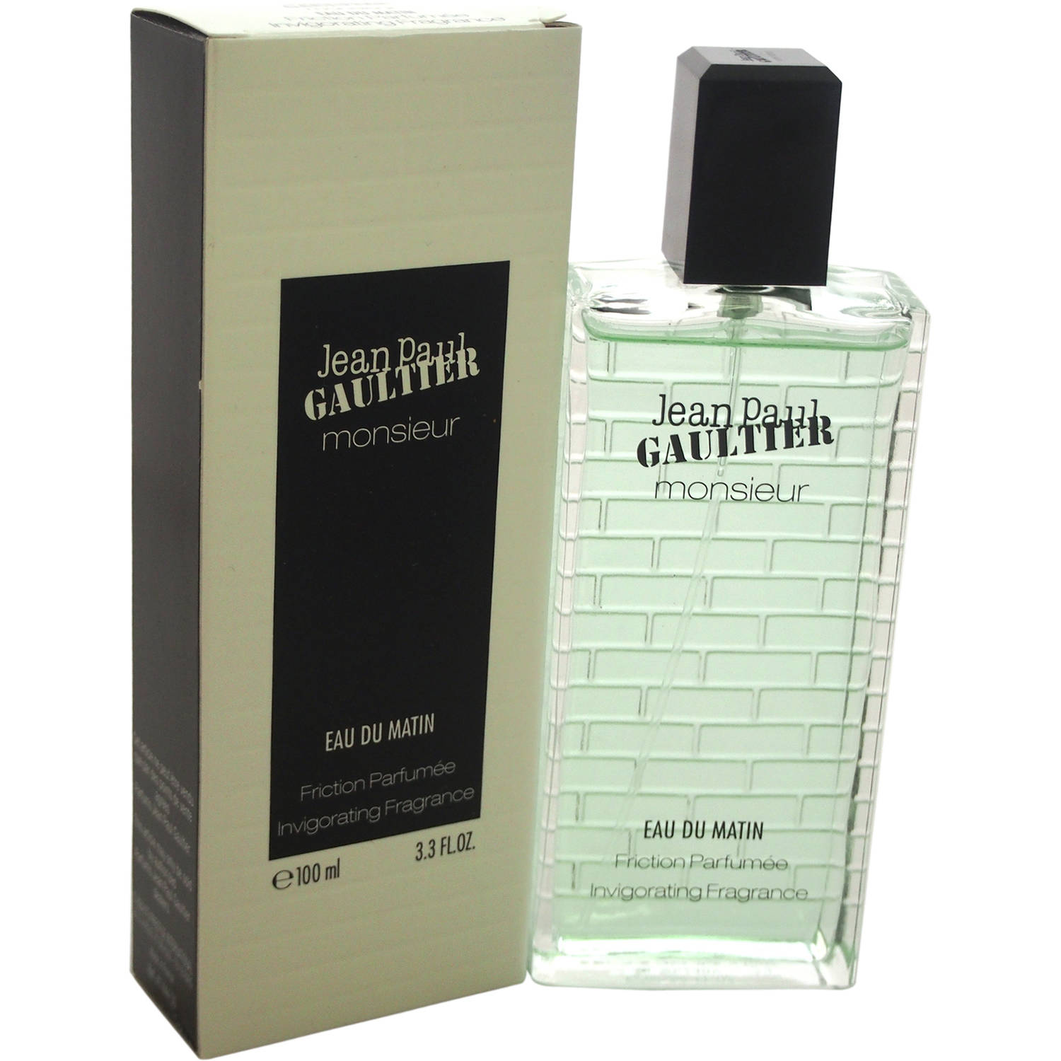 Jean Paul Gaultier Monsieur Eau Du Matin Men's Invigorating Fragrance Spray, 3.3 fl oz