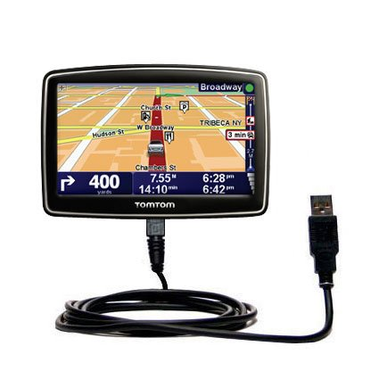 Classic Straight Usb Cable Suitable For The Tomtom Xl 350