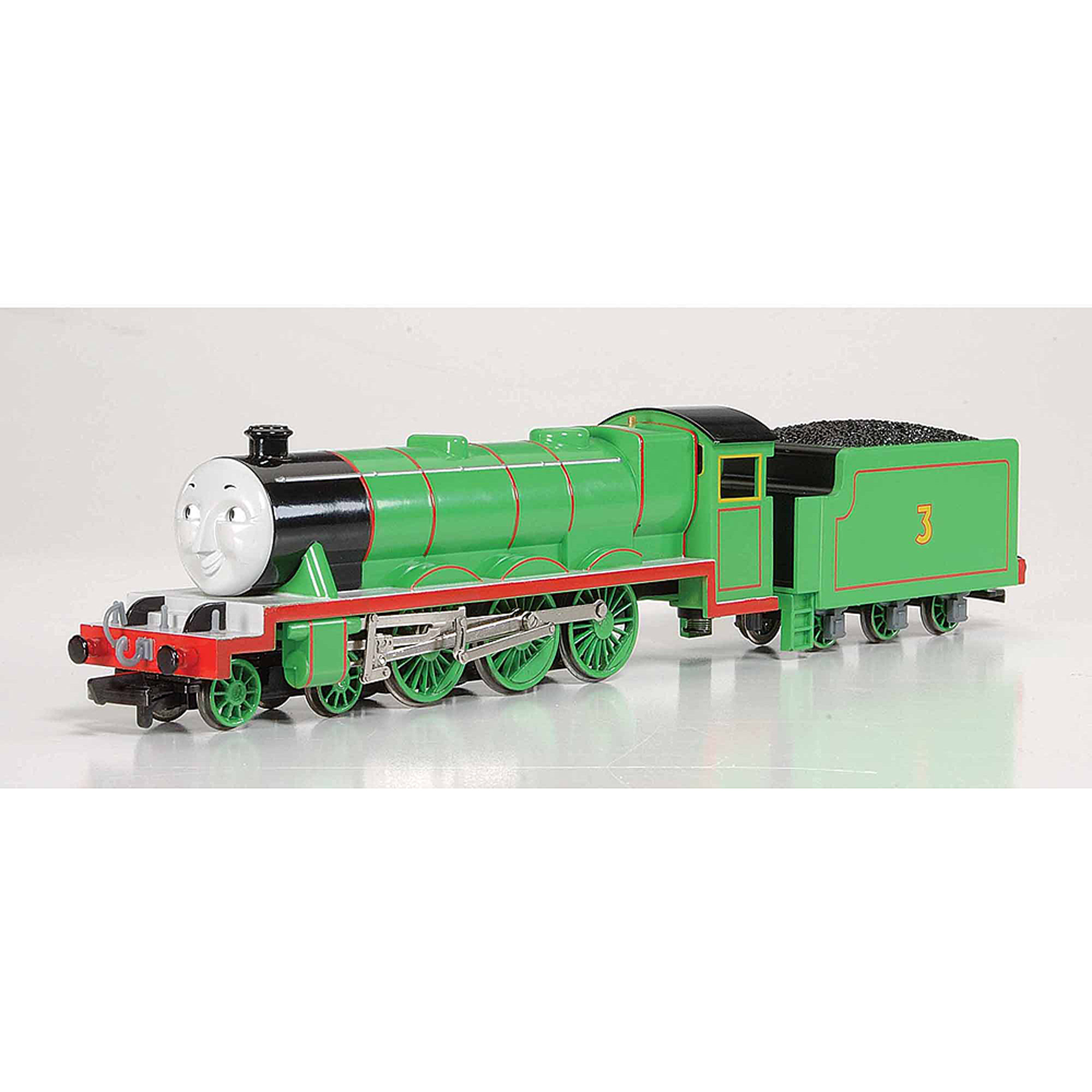 Bachmann Trains Thomas and Friends Henry The Green Engine Locomotive with Moving Eyes, HO Scale Train