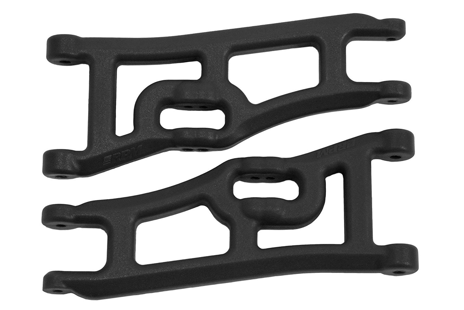 70662 Wide Front A-Arms, Traxxas E-Rustler and Stampede 2WD, Black by