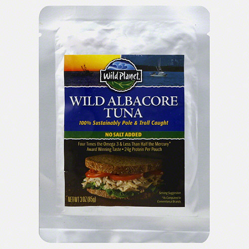 Wild Planet Wild Albacore Tuna, 3 oz, (Pack of 24)