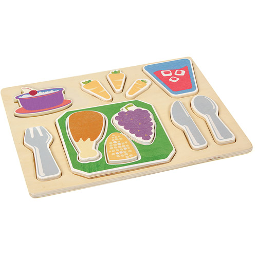 Guidecraft Sorting Food Tray, Dinner