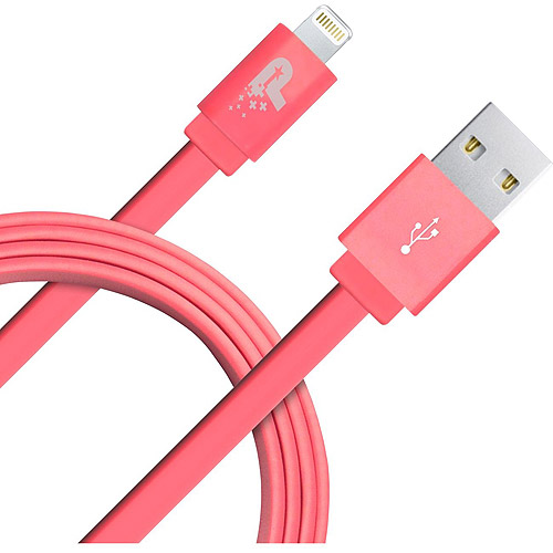 Patriot Memory 3.3 ft Lightning Flat Cable - Pink (PCALC3FTFPK)