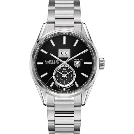 TAG Heuer Carrera WAR5010.BA0723 TAG Heuer Carrera Calibre 8 GMT Automatic Mens Watches - Free Shipping - Model WAR5010.BA0723 - Authenticity Guaranteed