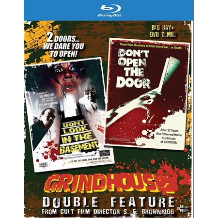 Grindhouse Double Feature: Don't Look in the Basement / Don't Open the Door (Blu-ray + DVD)