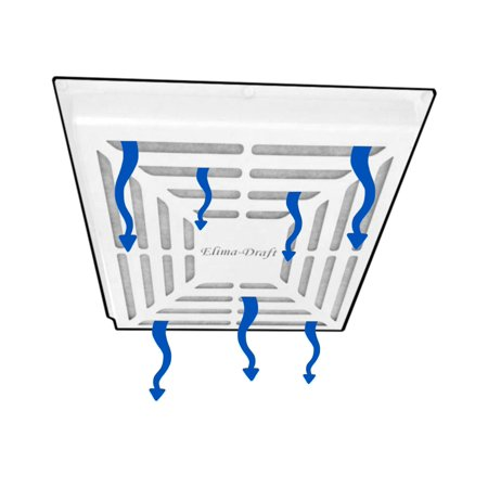 "ELIMA-DRAFT® MAGNETIC FILTRATION VENT COVER FOR HVAC COMMERCIAL VENTS 24"" X 24"""